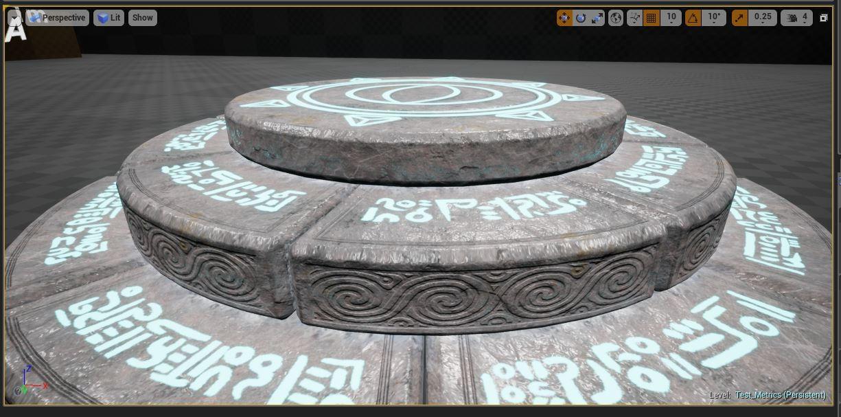 Screenshot in Unreal Engine