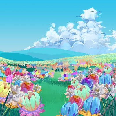 Xand flowerfield