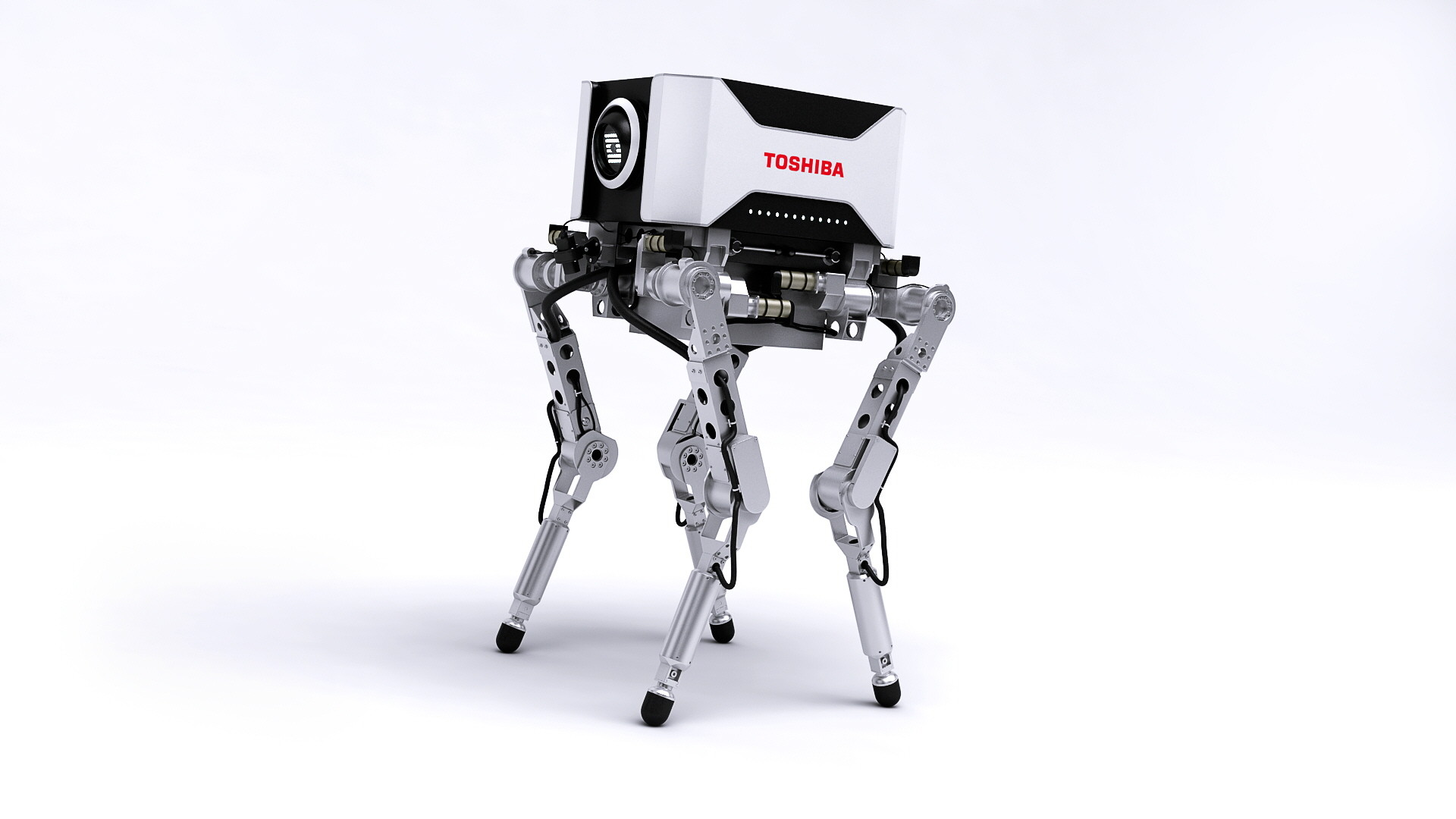 Di studios quadruped camera robot