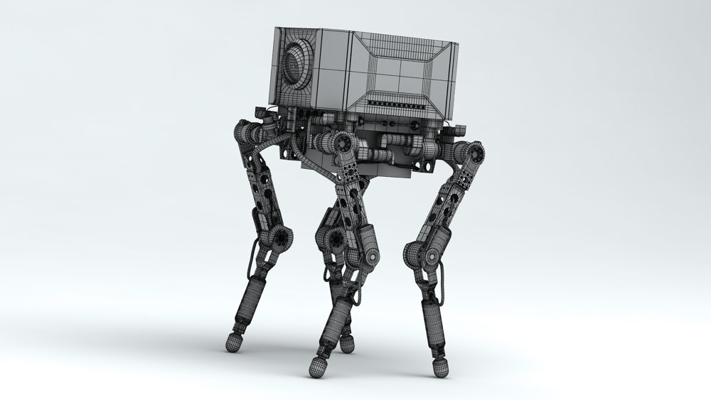Di studios quadruped camera robot 4