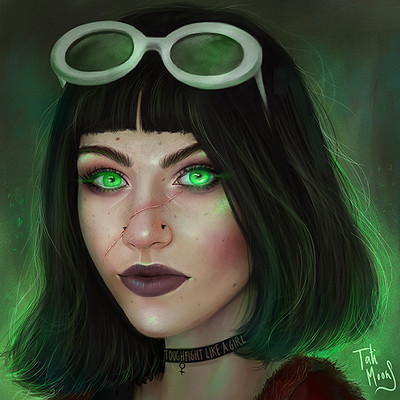 Tati moons art