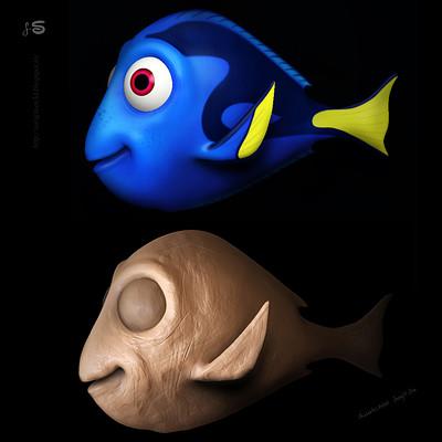 Surajit sen fish doodle surajitsen 19102017