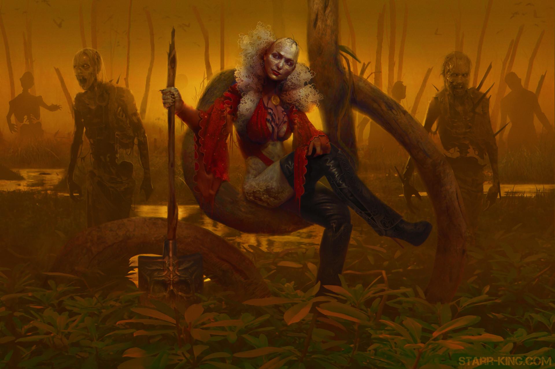 James starr king starr king zombie queen