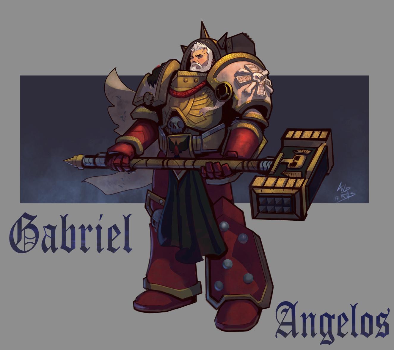 Gabriel Angelos Concept art