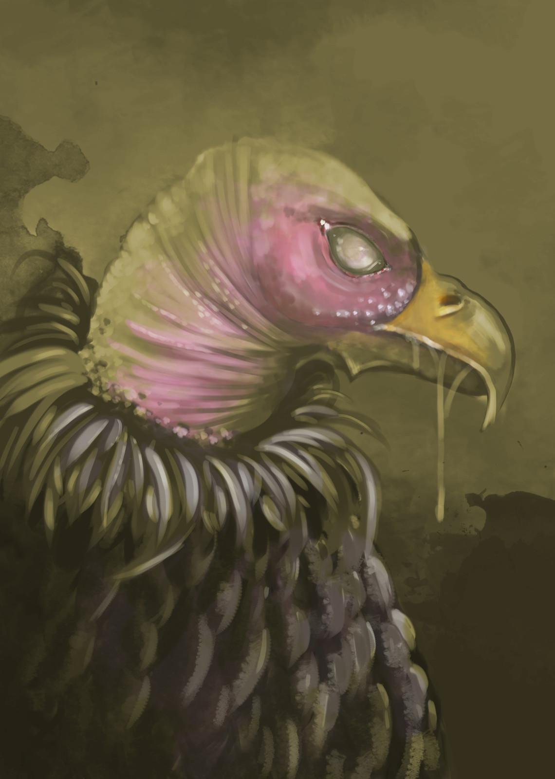 A sickly bird
