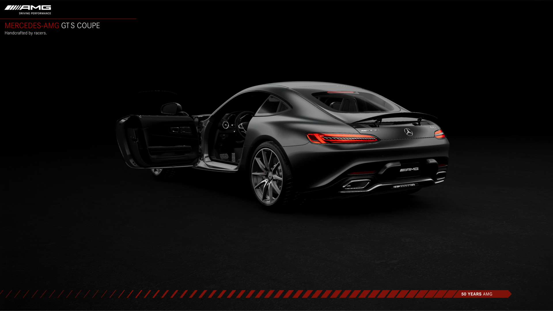 Jonathan caro amg gts coupe rearaction