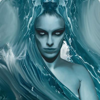 Poveda digital art sirena