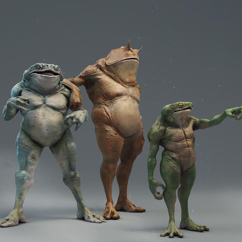 BattleToads//Brutal Frogs