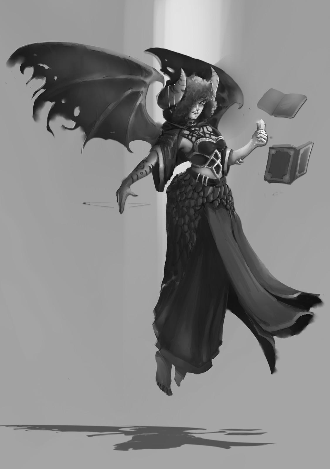 The Demon's Spellcaster