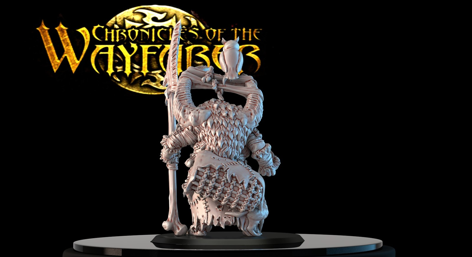 Miniatures sculpt done for Chronicles of the Wayfarer Heroes a range of models in 28 mm, line released by Boyd's Toys.  I really enjoy working with Boyd's Toys