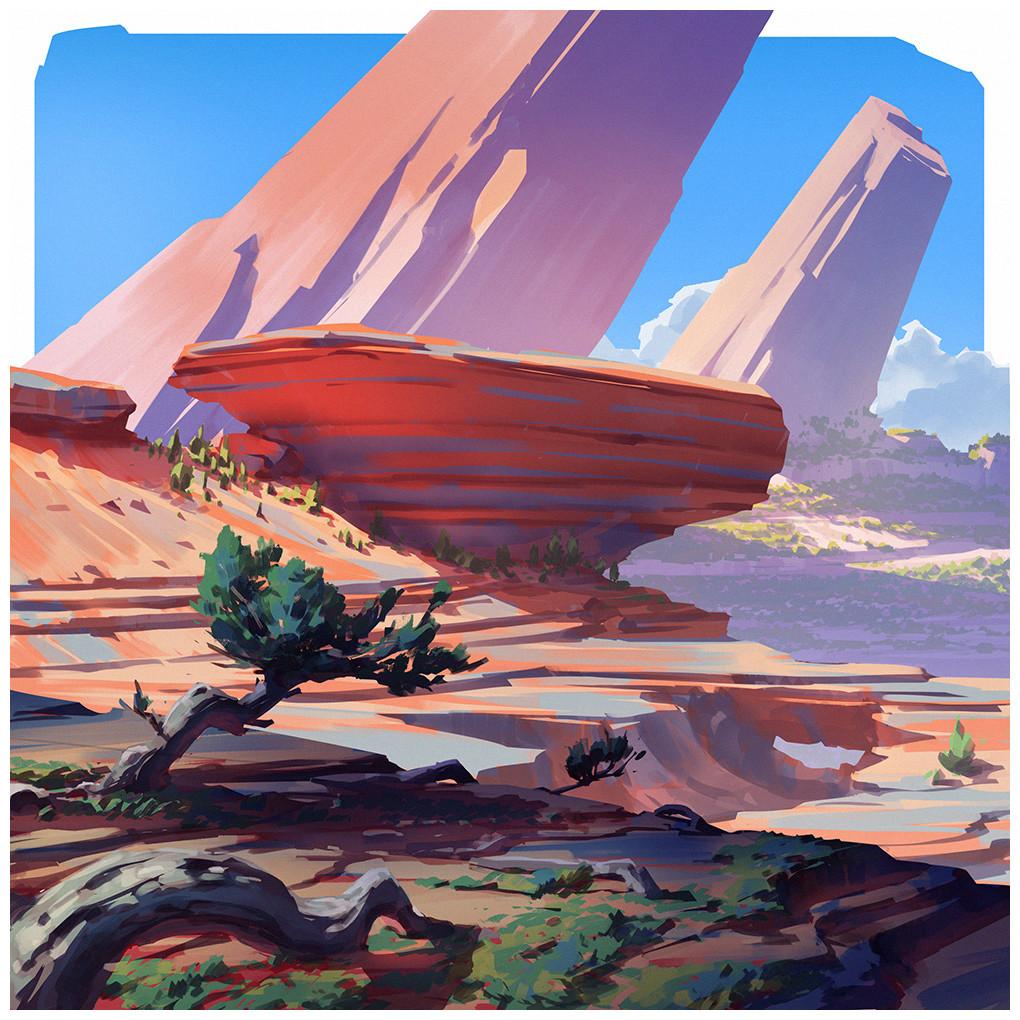 Square landscapes 2