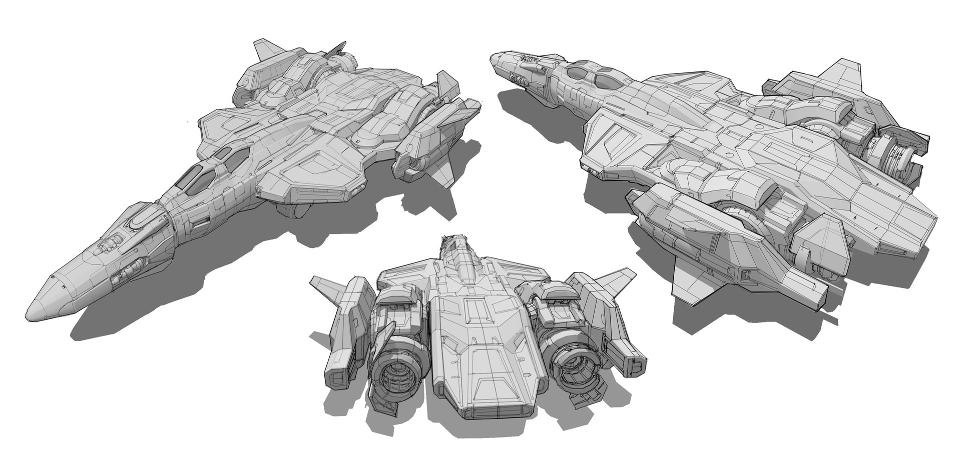 SF-47A Thresher  Concepts