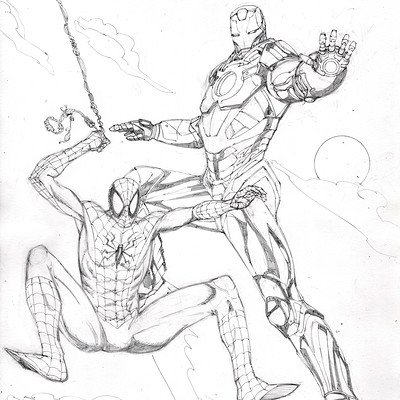 James beihl spiderman ironman