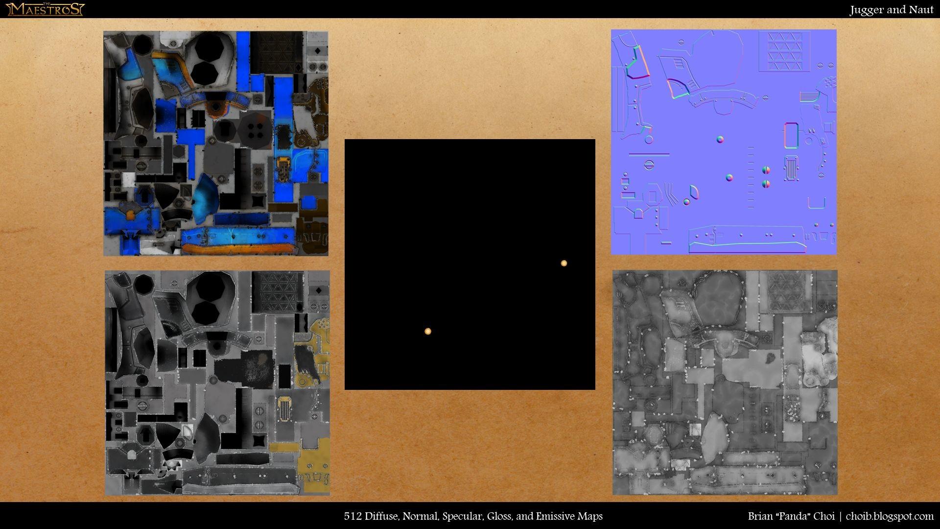 Brian panda choi juggerandnaut texturemaps