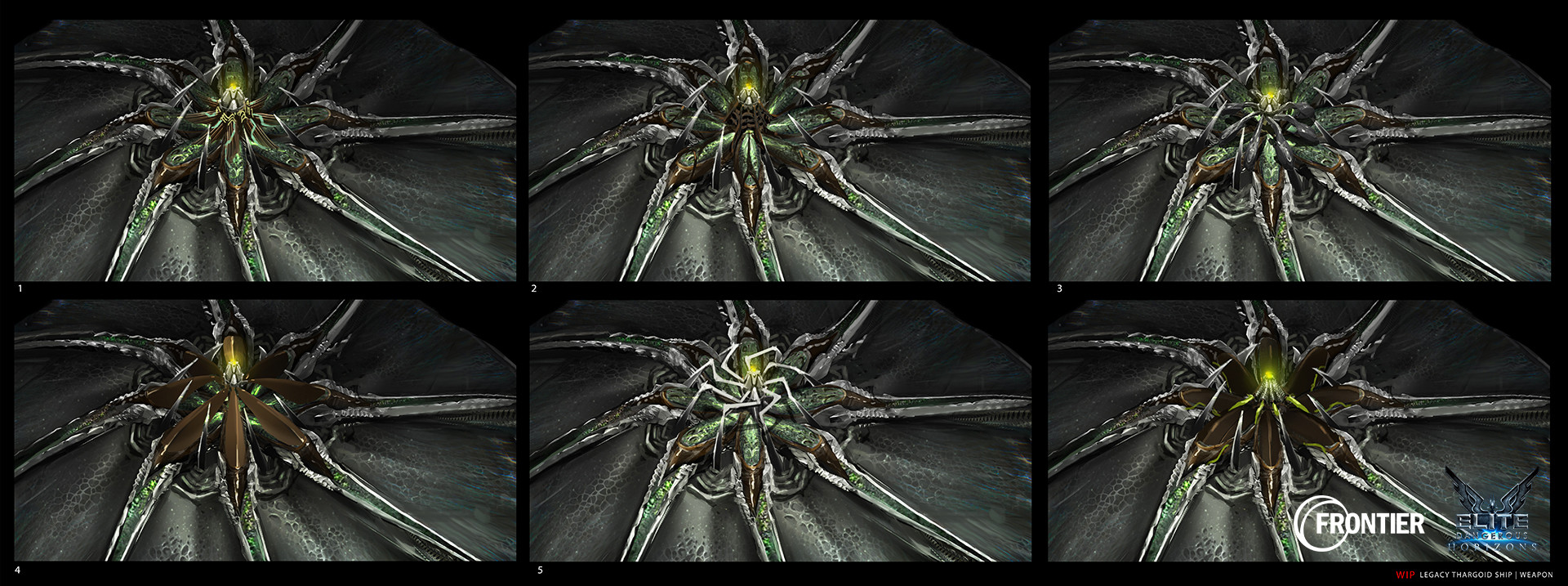 Emilie rinna legacy thargoid weapons