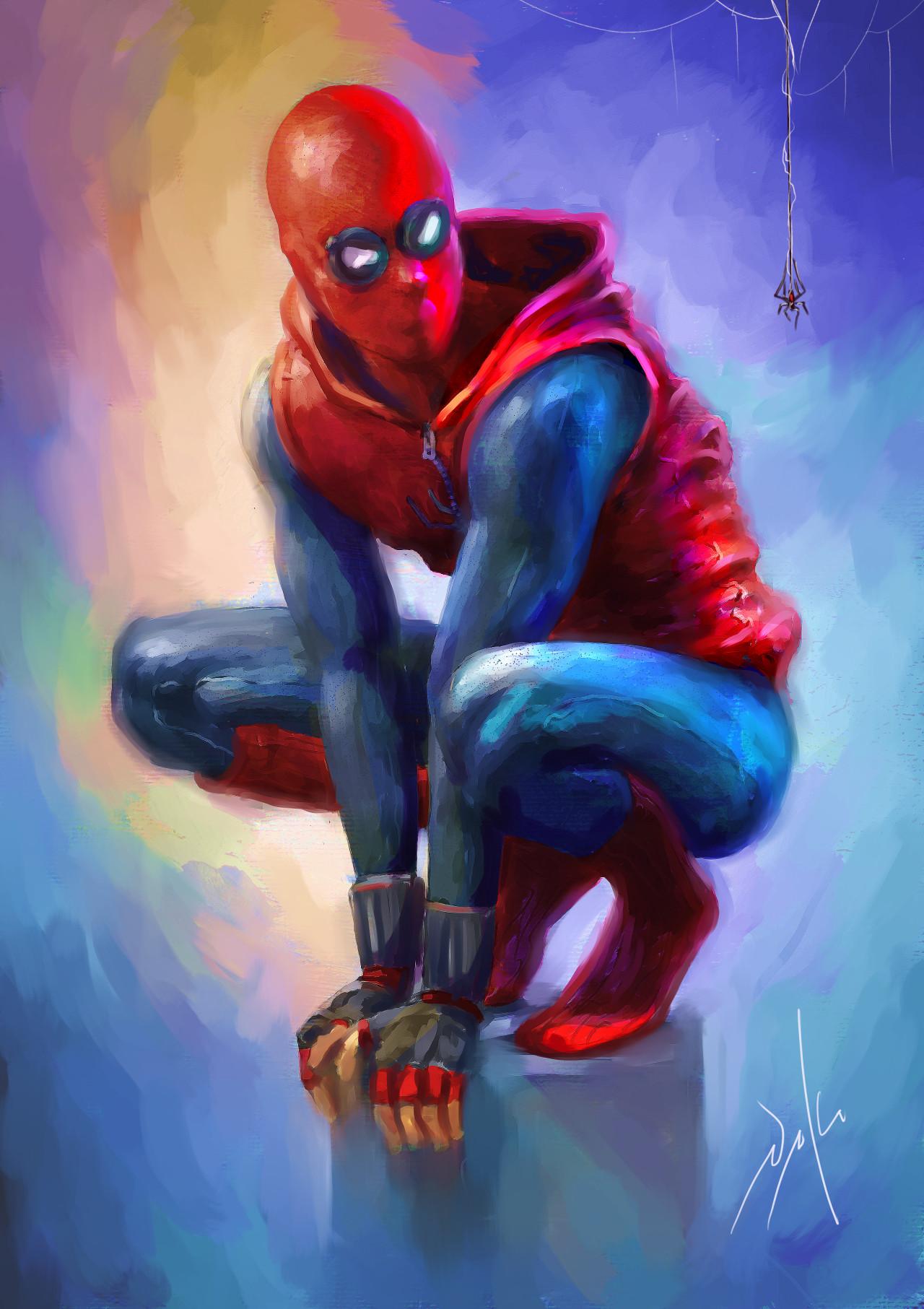 Naka isurita spiderman lowres