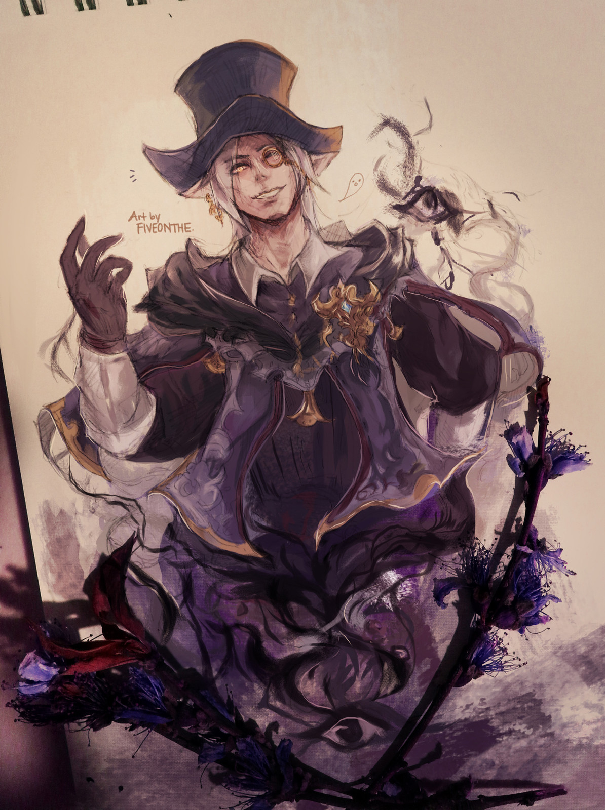 Coloured Sketch Collection III [ Elezen ]