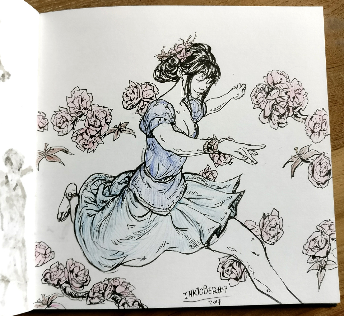 Inktober day 17: Graceful