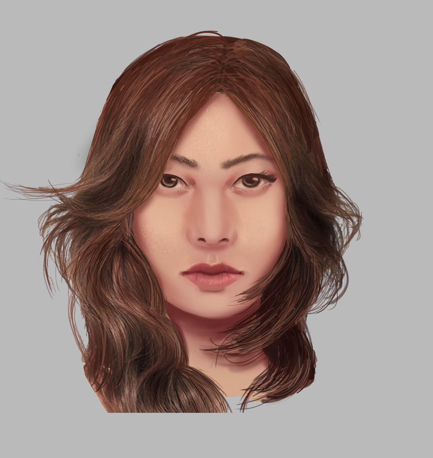 Random asian girl 12