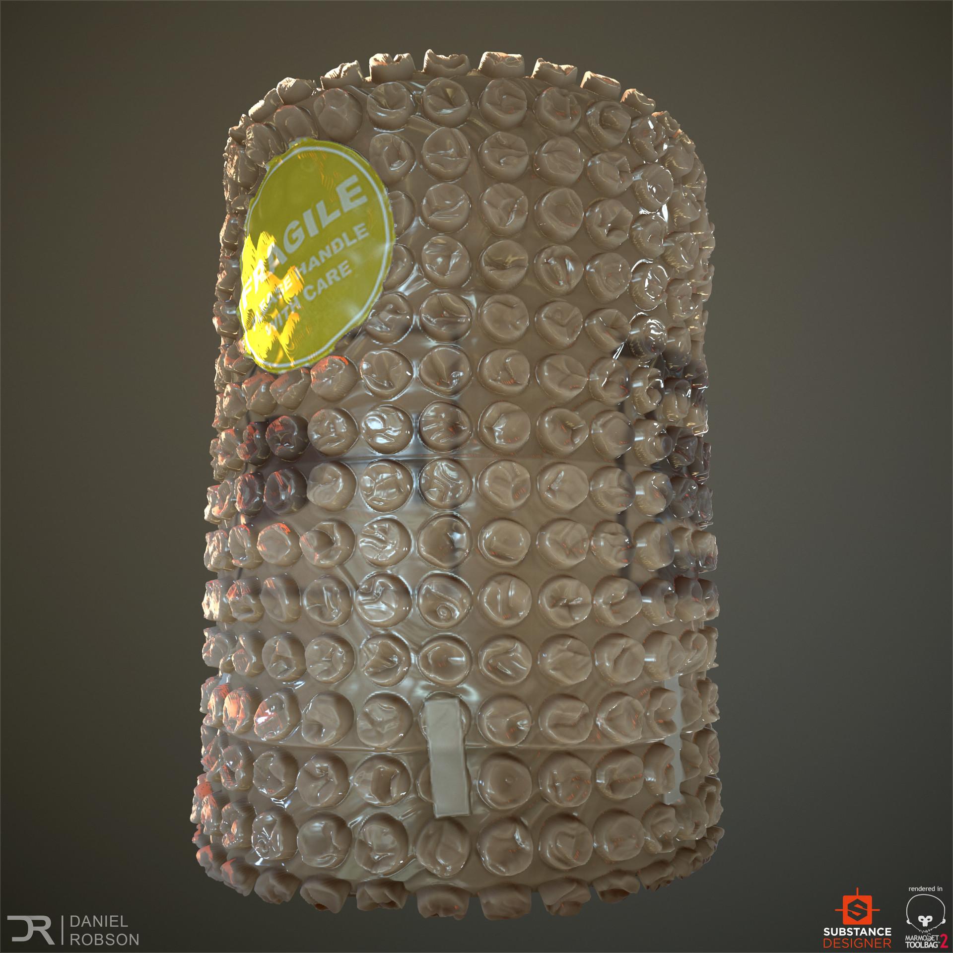 Artstation Bubble Wrap Substance Designer Daniel Robson