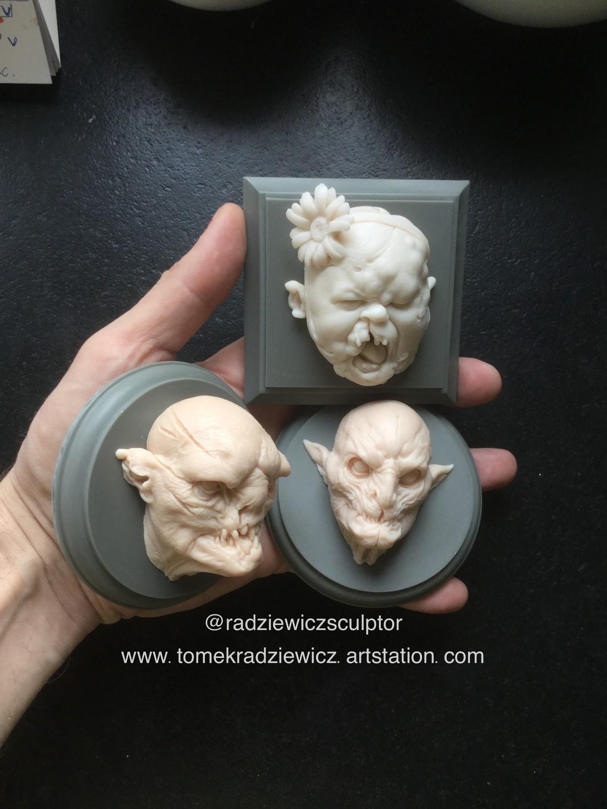Creatures/ cast resin