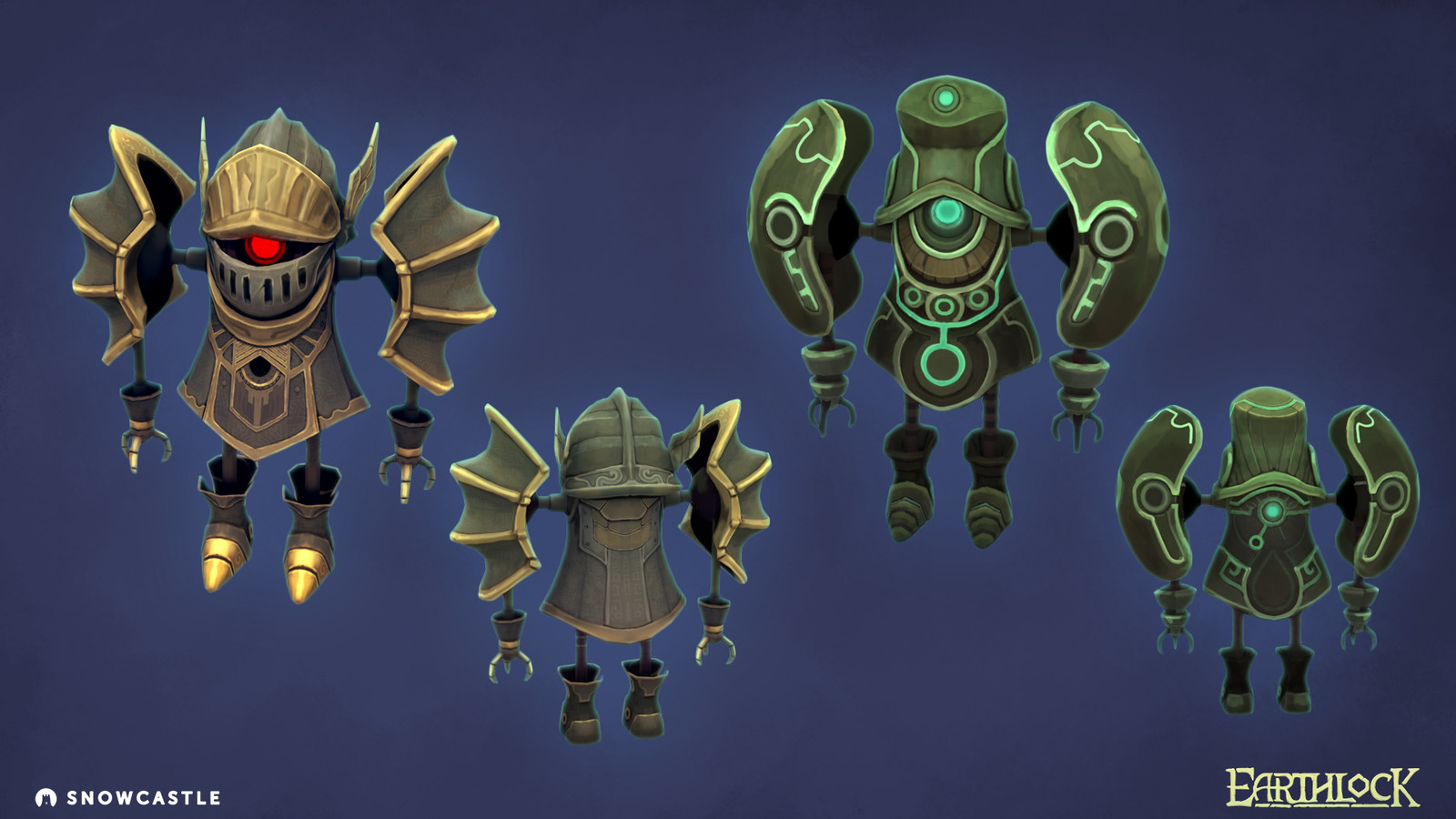 The two armour upgrade available in the game.