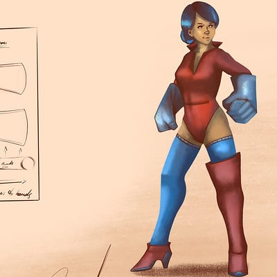 Dremond tanic character001