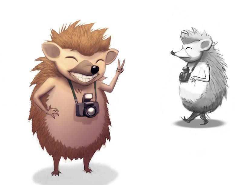Frits olsen hedgehog 03 o
