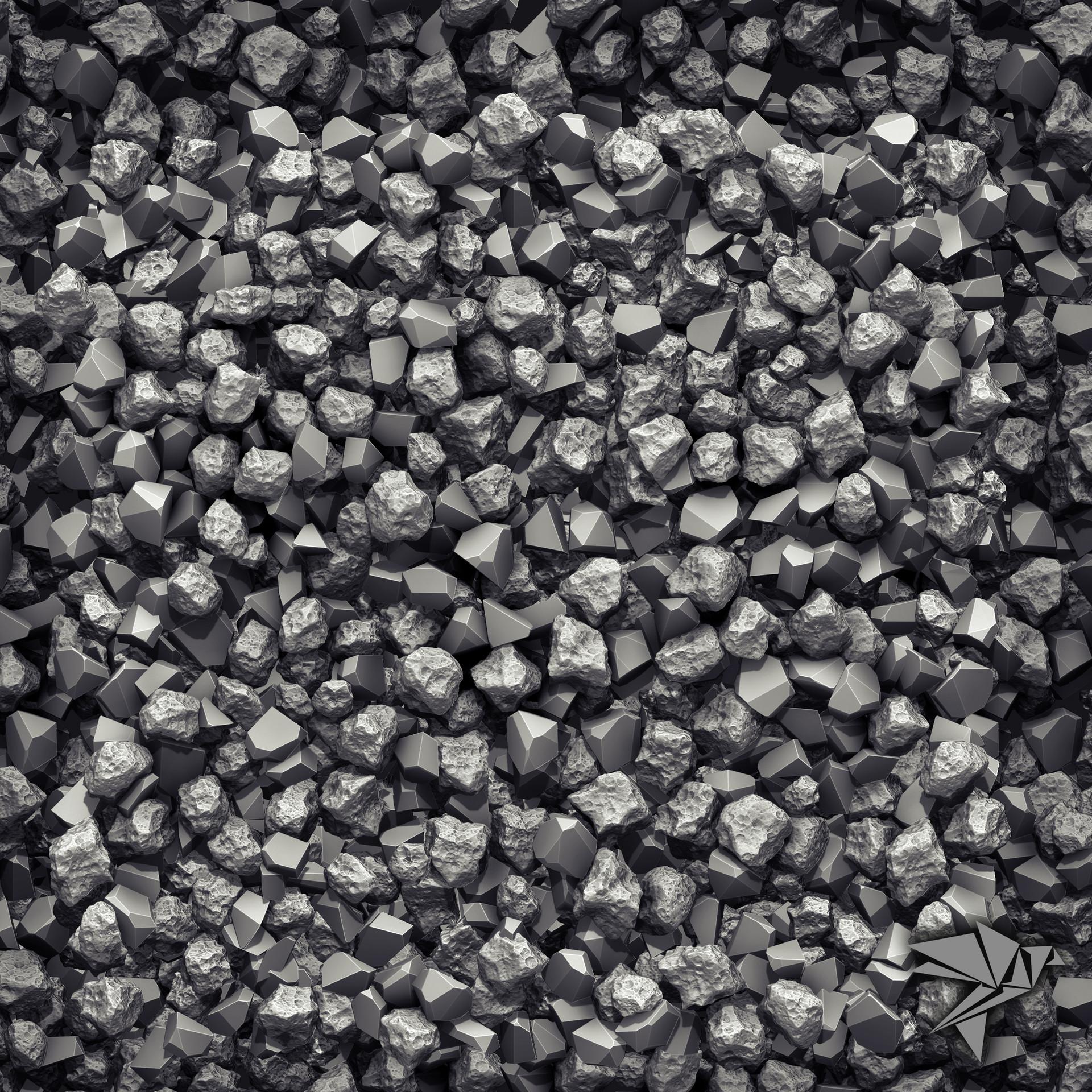 Mark ranson coal zbrushrender