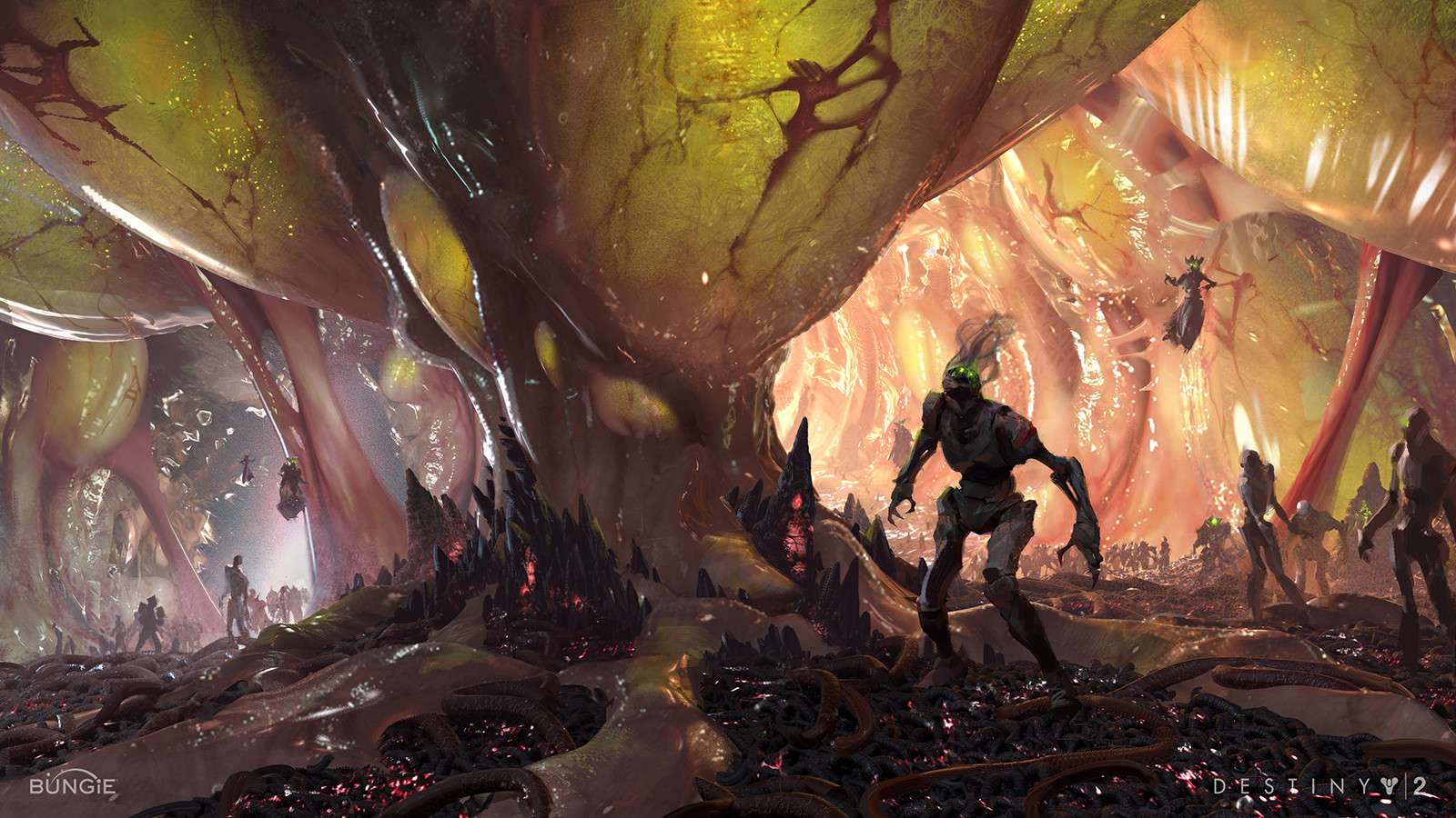 ArtStation - Hive in Arcology in Destiny 2, Sung Choi