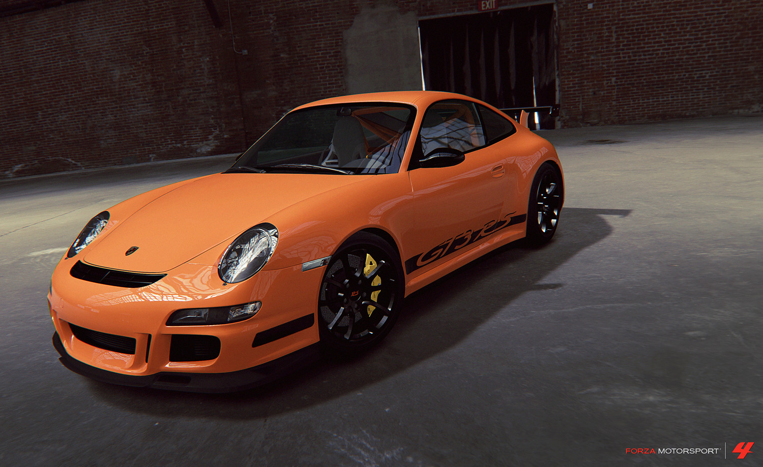 Took the 911 GT3 RS model from Forza 2 and updated it for Forza 4. Remodeled front and back end.