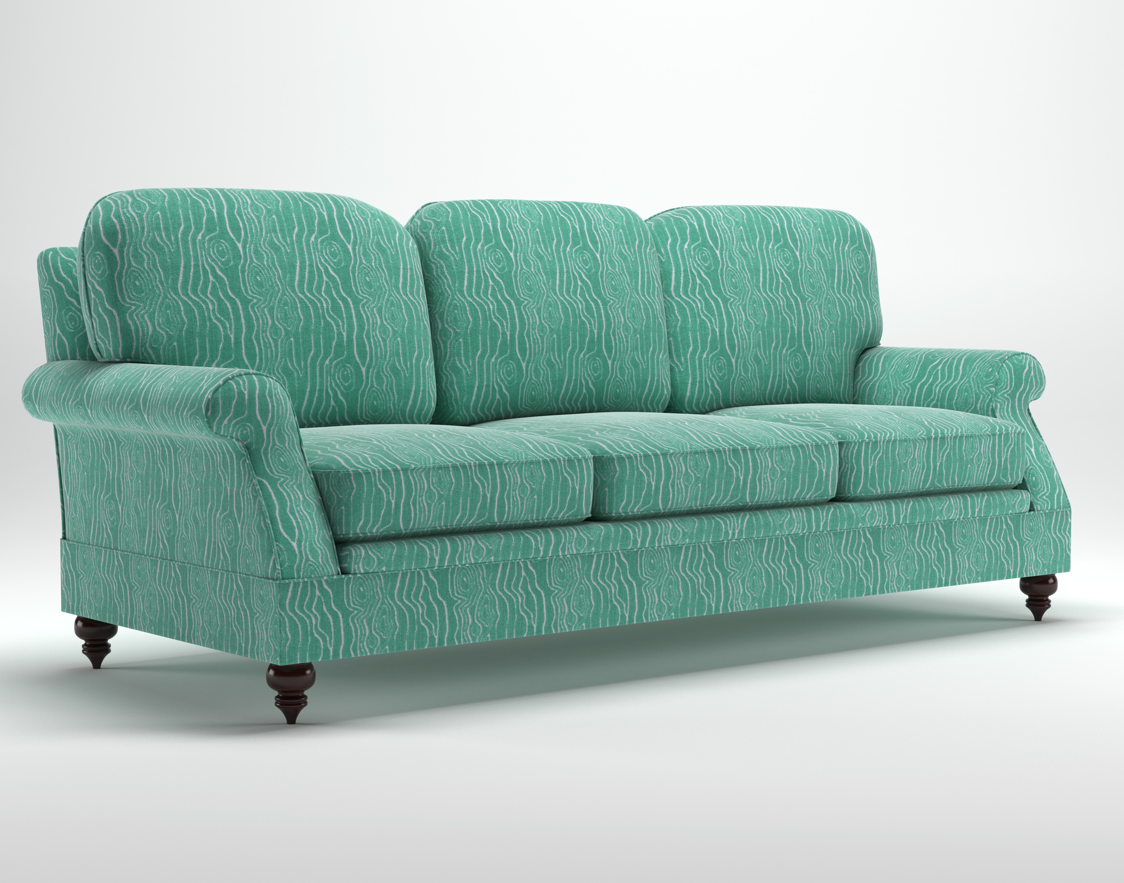 Sofa Style 3: Different style feet.