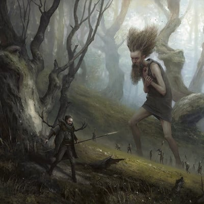 Sergey averkin deep in the forest
