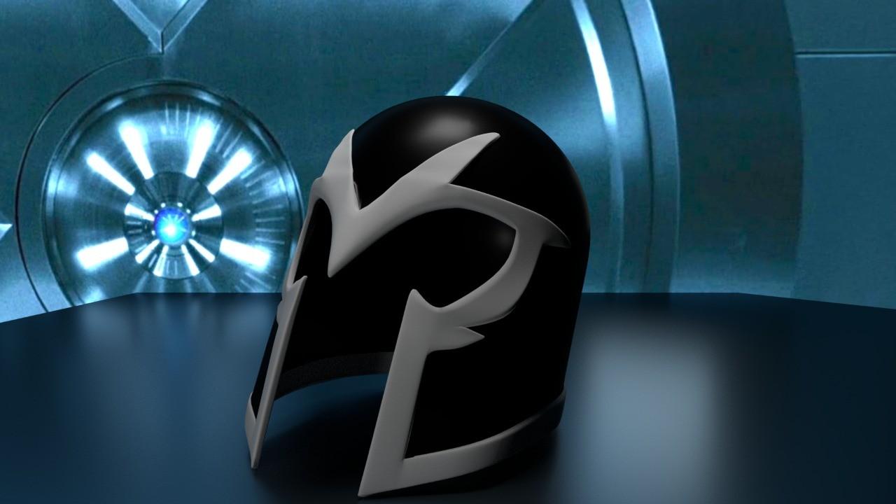 Artstation Magneto Helmet X Men First Class Israel Miranda