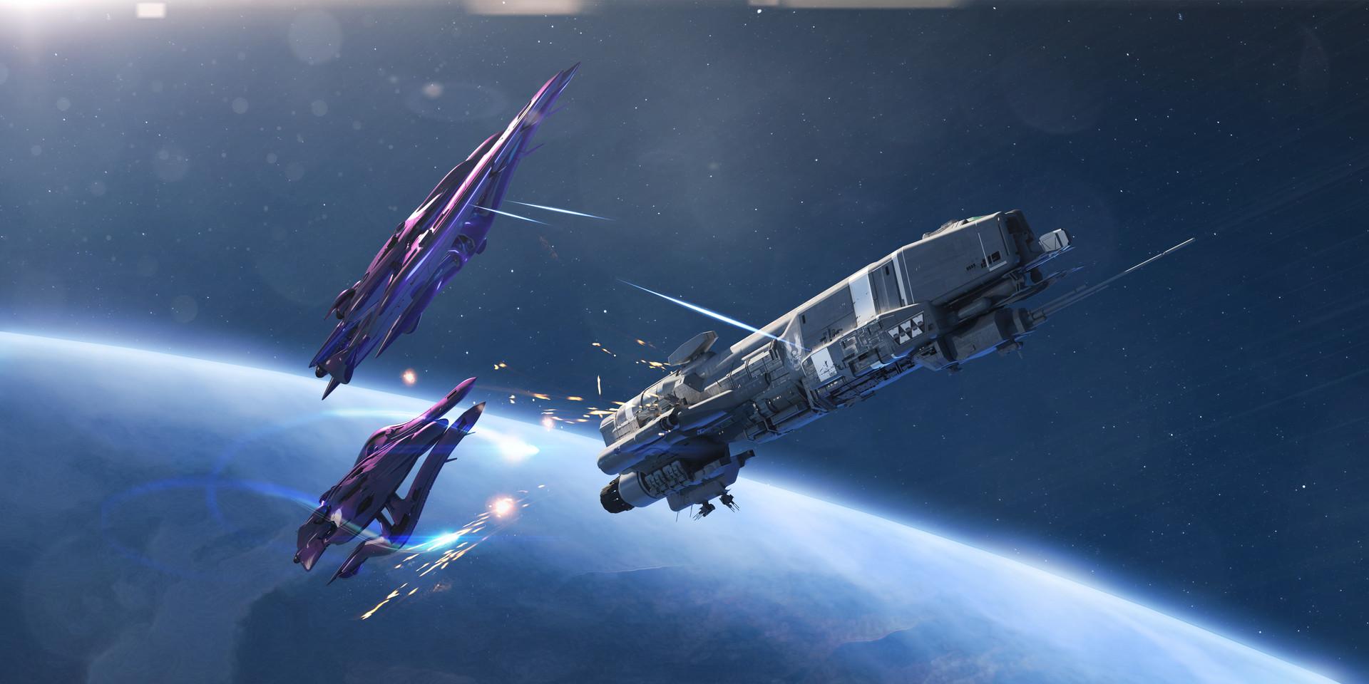 Artstation Halo Warfleet Isaac Hannaford