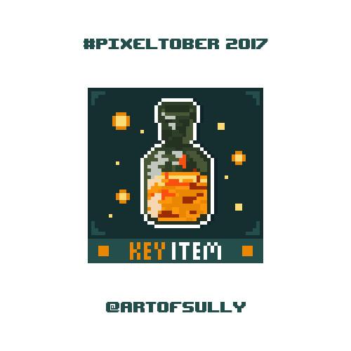 #pixeltober - Day 23 - 'Estus Flask (Dark Souls)'