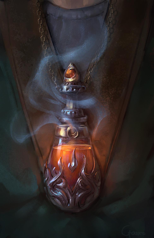 Snow Elves - Potion of endure cold