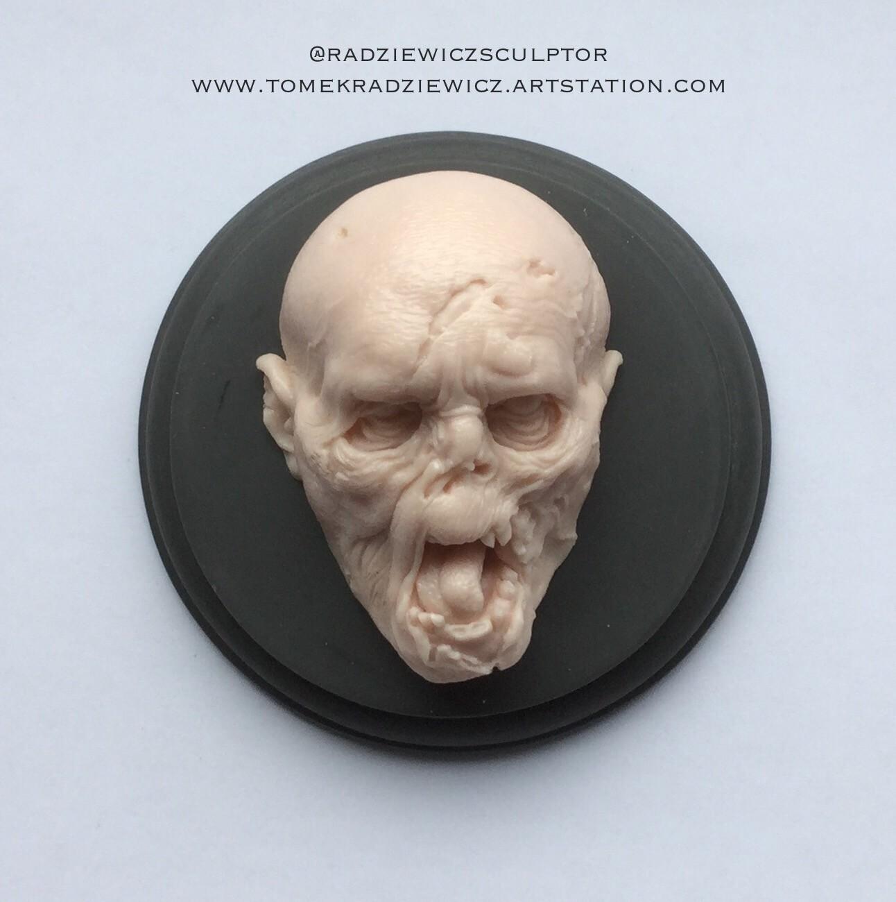 Creature head/zombie