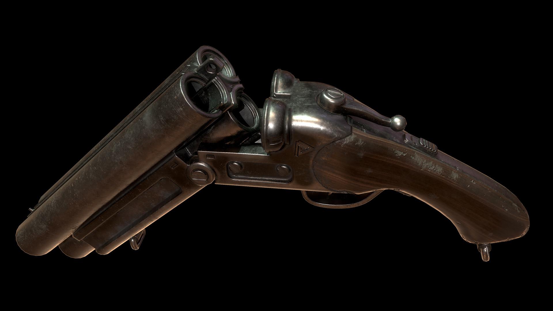 Sergey tyapkin shotgun render 1