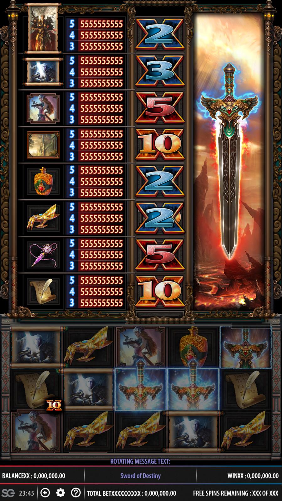 Sword Of Destiny UI Work