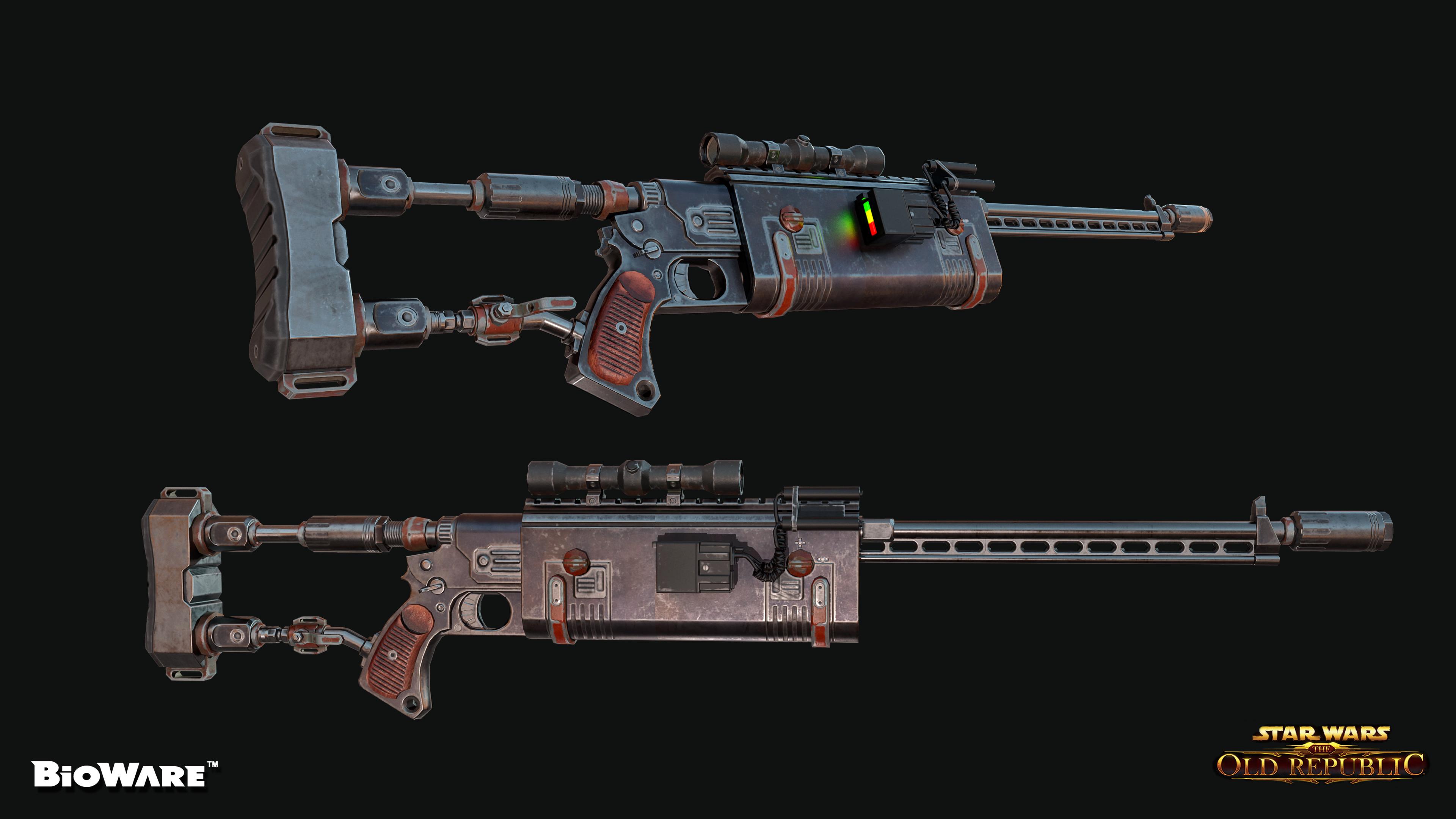 Scorpion TK Sniper Rifle
