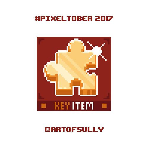 #pixeltober - Day 24 - 'Golden Jiggy (Banjo-Kazooie)'