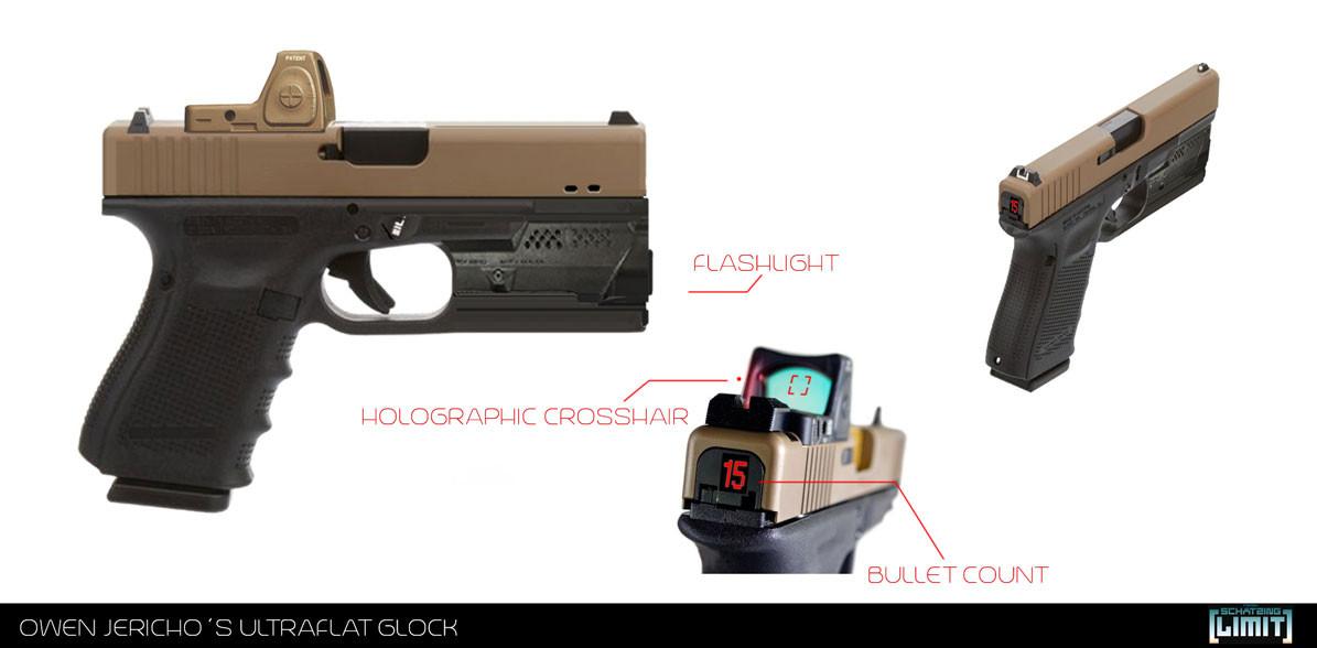 Owen Jericho´s ultraflat Glock