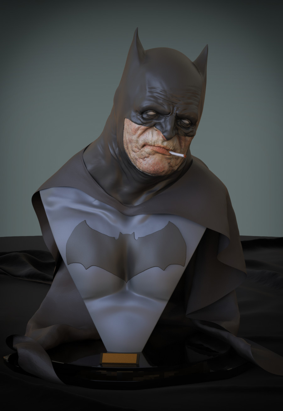 Gilberto soren zaragoza old batman a