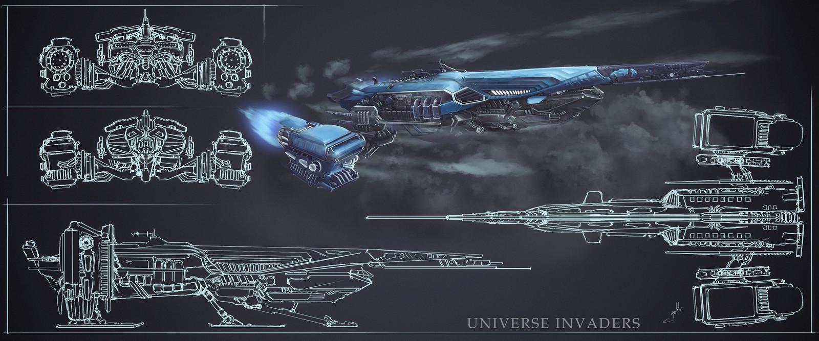 Interplanetary Strike Frigate