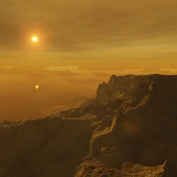 Titan terrain.