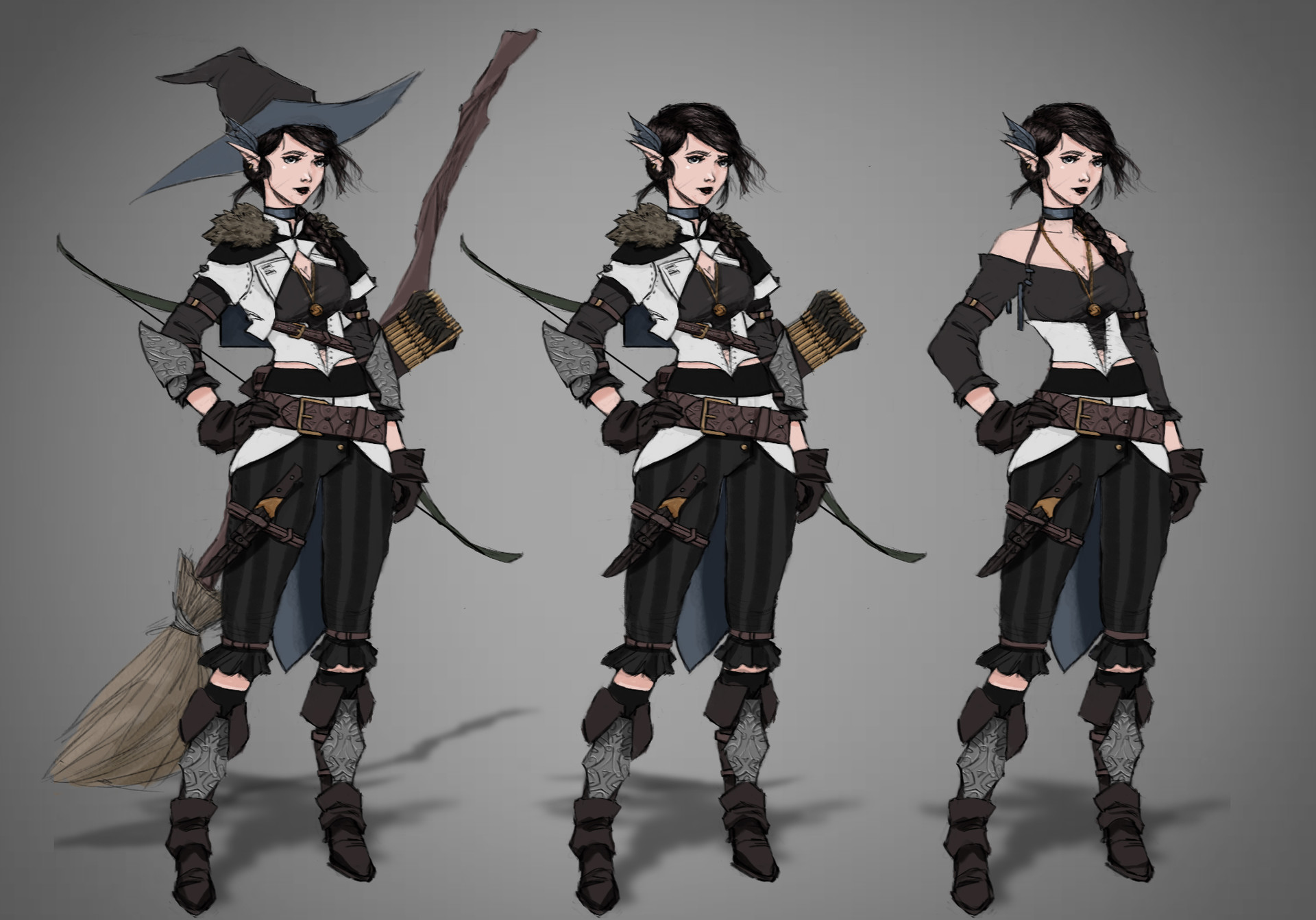 Artstation Lady Vex Ahlia Baroness Of The First House Of Whitestone Concept Art Critical role artist kit buss captures the evolution of vox machina with new character portraits | geek and sundry. artstation lady vex ahlia baroness