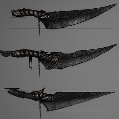 Kurtis knight concept art kuter knife