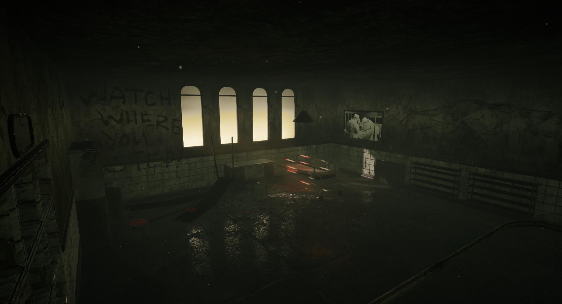 Ashton Jensen Abandoned Asylum Hospital