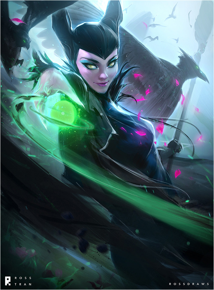 Ross tran maleficent web